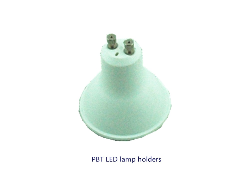 PBT LED lamp holders