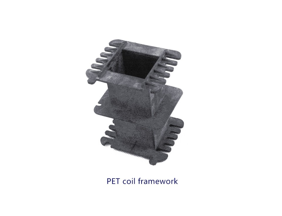 PET coil framework
